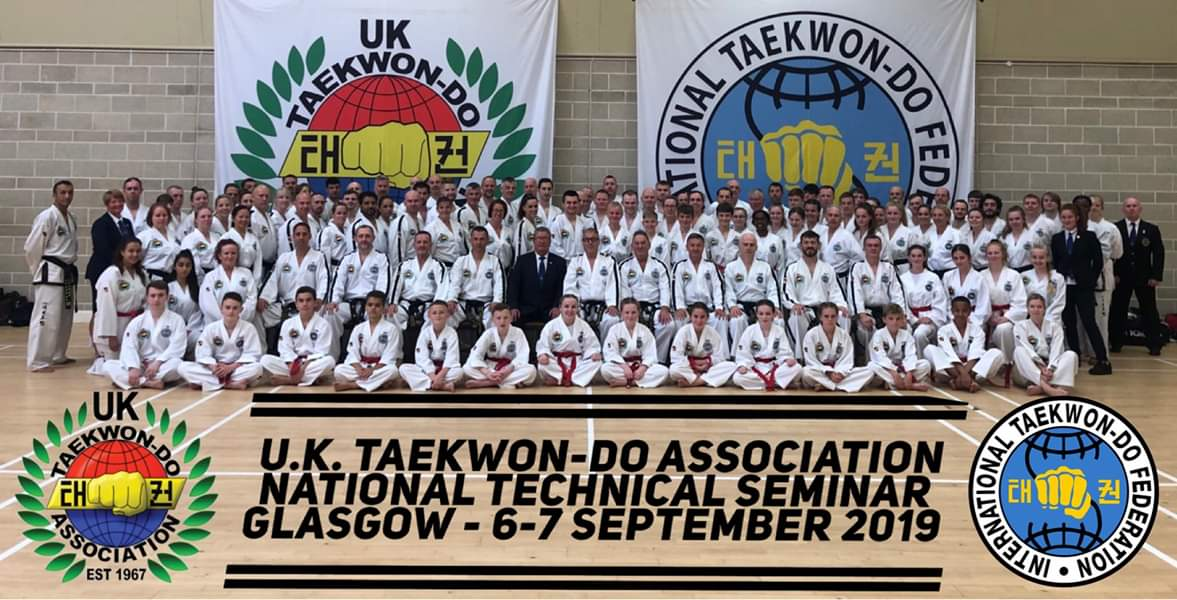 Black belt group photo